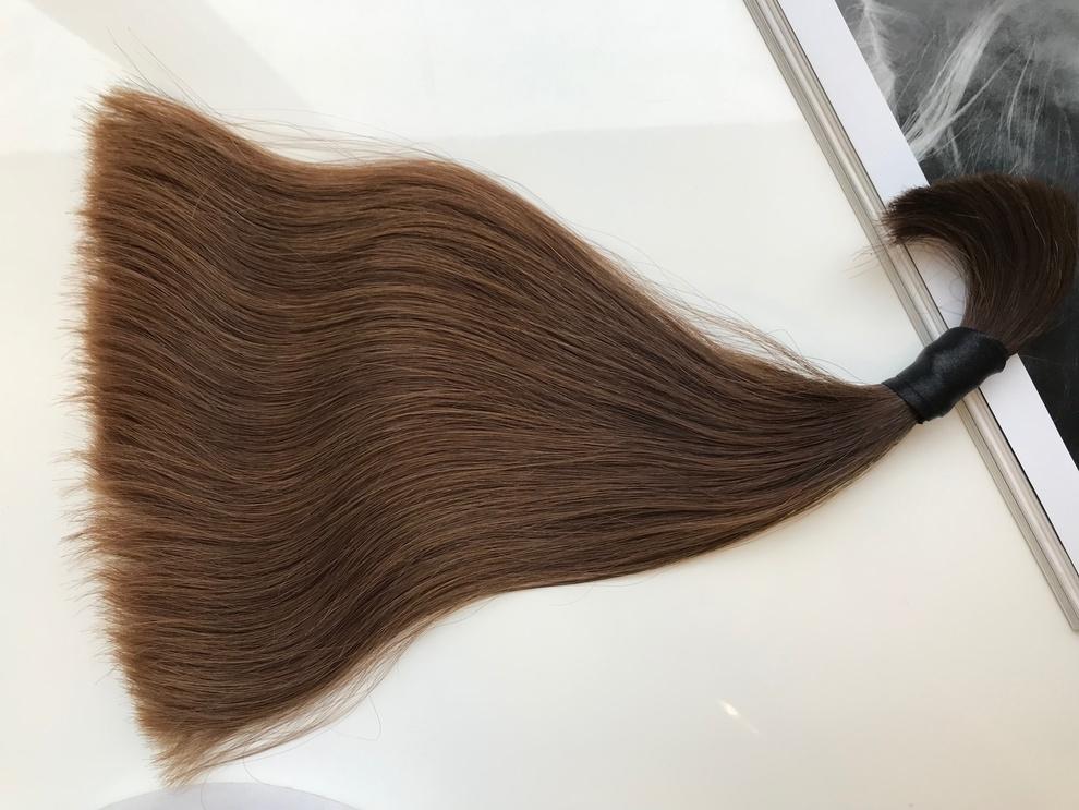 37cm/65gram Włosy słowiańskie dziewicze kucyk A116