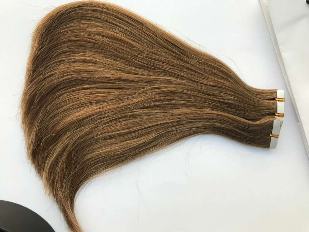 Włosy dziewicze Tape On 32cm/57gram 14,5 kanapki T27