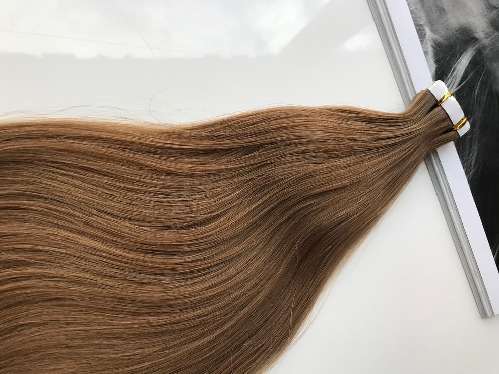 35cm/57gram Włosy słowiańskie dziewicze kucyk A23