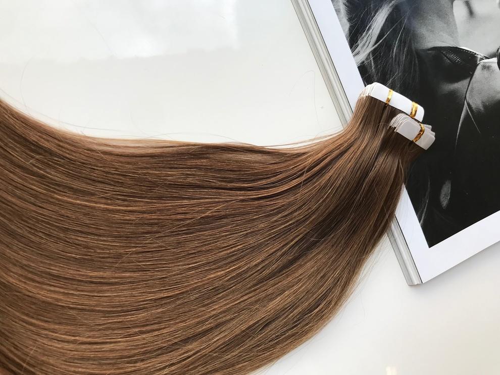 33cm/18gram Włosy słowiańskie dziewicze kucyk A29