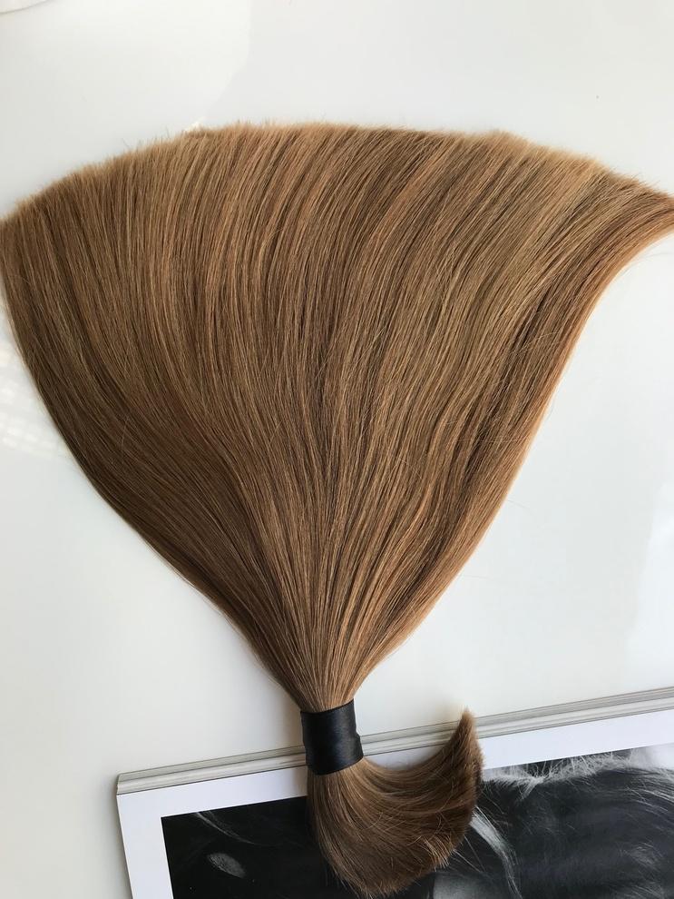 26cm/34gram Włosy słowiańskie dziewicze kucyk A138