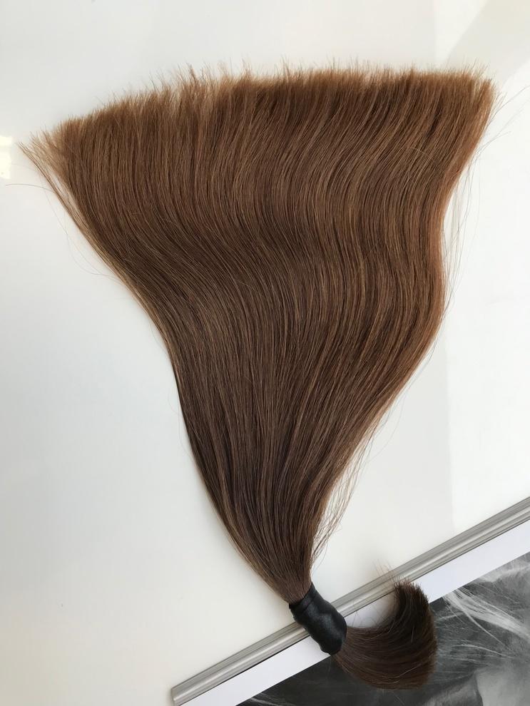 34cm/29gram Włosy słowiańskie dziewicze kucyk A52