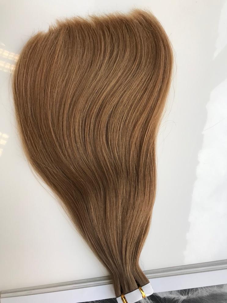 30cm/32gram Włosy słowiańskie dziewicze kucyk A83