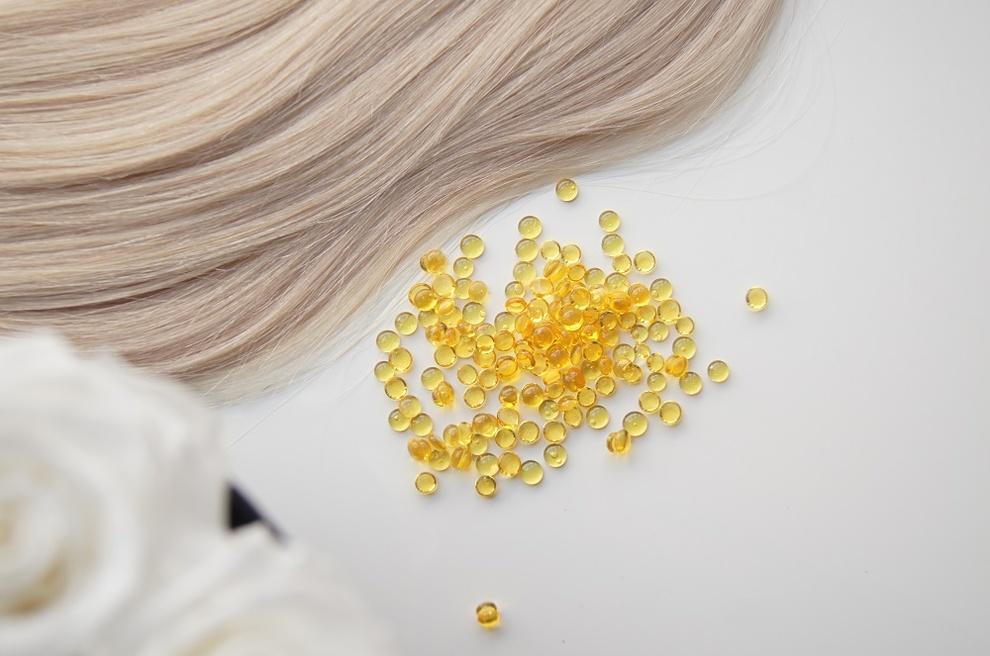 Keratyna żółta/miodowa w granulkach 30 gram